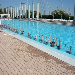 Pool at the Sporting Club in Lignano