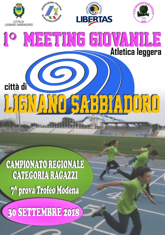 1° Meeting Giovanile Atletica Leggera